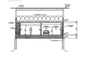 zijaanzicht-stalen-buizen-voor-de-dek-constructie-voor-ondergrondse-garage