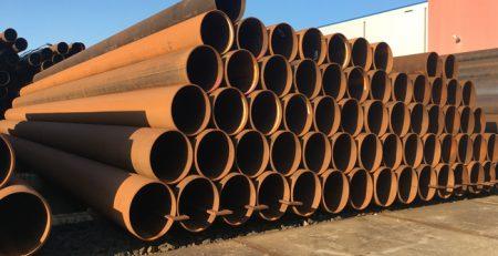 Stahlrohre mit dem Außendurchmesser - 406,4 x 9,5 mm