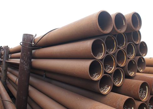 Partij in beeld - 203 x 7,1 mm in staalkwaliteit S235