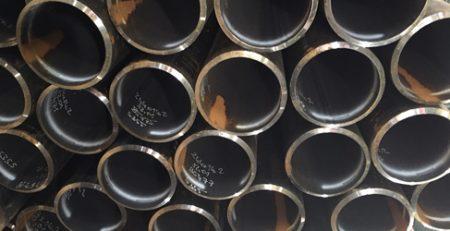 Partij in beeld - 244,5 x 14,2 mm in staalkwaliteit S355