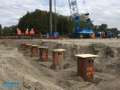 Stalen buizen - Rijnlandroute A4