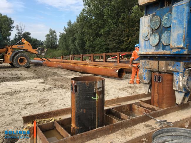 Stalen buizen van Comol5 Project A4