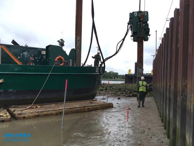 Buispalen 610mm voor eerste Maaspoint in Rotterdam 3
