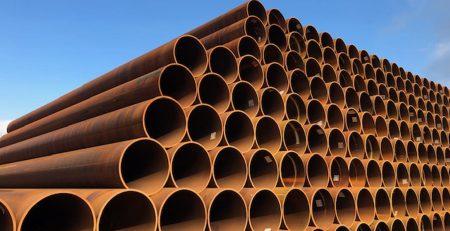 800 ton Langsnaad Gelaste buizen